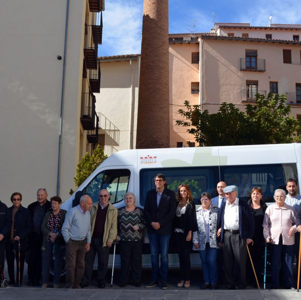 Presentació del nou vehicle adaptat del Centre de Dia de Morella