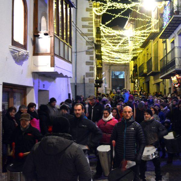 Festa d'encesa de les llums de Nadal a Morella