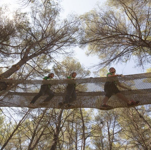 Parc d'aventura Saltapins a Morella