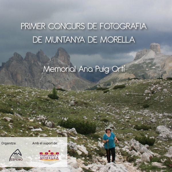 I Concurs de fotografia de muntaña de Morella memorial Ana Puig Ortí
