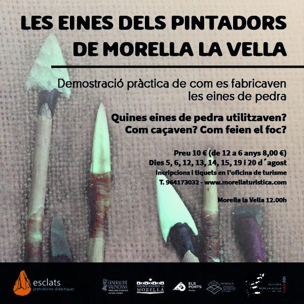 Les eines dels pintadors de Morella la Vella