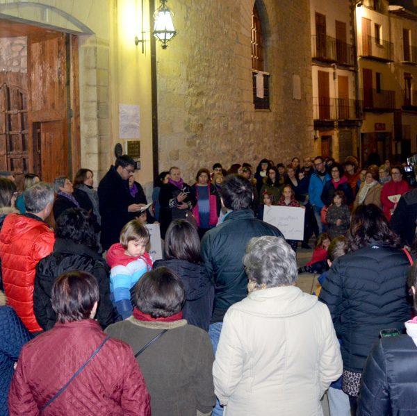 Manifestació del 8 de març del 2018 a Morella