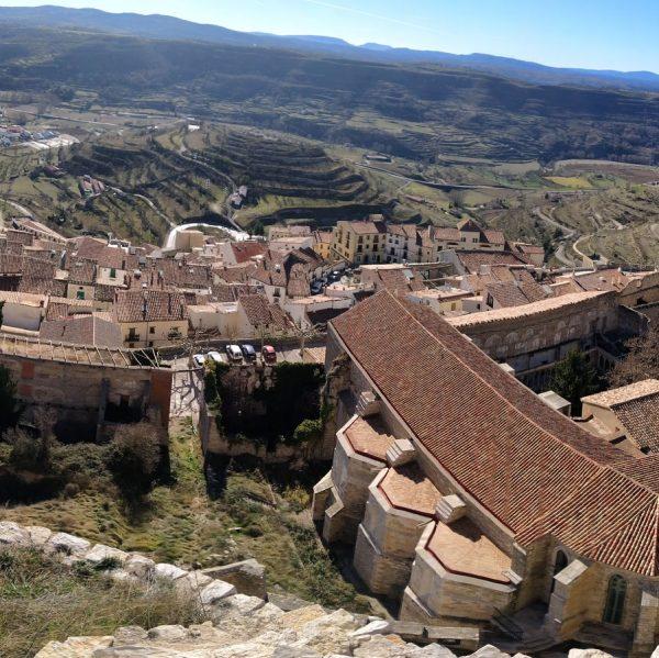 Convent de Sant Francesc i de les Agustines on subicarà el futur Parador de Turisme de Morella