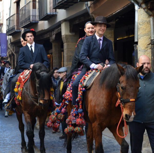 Retaule de les Grupes del Sant Antoni de Morella