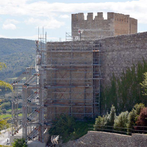 Torre del Racó de la muralla de Morella