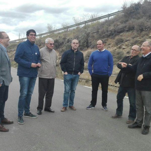 Visita Director General Obres. Camí la Canà